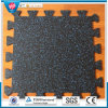 Interlocking Rubber Floor Tile Anti Slip Rubber Gym Flooring