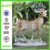 2014 New Hit Deer Princess Resin Statue for Home (NF86144)