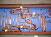 Copper Pipe Assembly for Central AC System