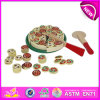 2014 New Wooden Pretend Toy for Kids, Role Play Toy Pretend Toy for Children, Hot Sale Pizza Toy Set Pretend Toy for Baby W10b064