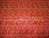 Sjhx018 Organza Bronzed Christmas Decoration Fabric