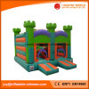 Inflatable Green Bouncer Castles T2-401