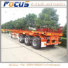 3 Axles 40FT 45FT Skeleton Container Chassis Semi Trailer