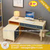Steel Metal Modesty Panel Tempered Glass Reception Table/Desk (HX-8ND9686)