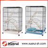 Large Folding Wire Pet Cage for Cat, Metal Cat Cage