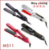 Novel Design Titanium Plates LED Professional Hair Straightener