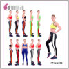 2015 Multicolor Striped Pants Stitching Yoga Fitness Leggings (SNXX004)