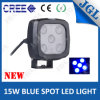 Industrial Safety Warning 15W LED Blue Spot Work Light