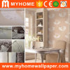 High Grade Velvet Flocking Natural Wall Papers for Home Decor