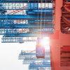 5% Discount Small Marine Port Cargo Mini Ship Deck Crane