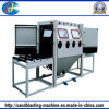 Double Work Position Manual Sandblasting Machine 2010A-2