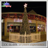 High Quality Artificial Outdoor Lighted Metal Christmas Trees Light