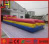 Inflatable Bungee Run Bouncer, Double Lane Bungee Run, Bungee Jumping Run