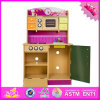 2016 Top Sale Wooden Children Kitchen Set Toy W10c013