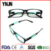 Ynjn High Quality Personality Green PC Glasses of Reading