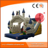 28′ Frozen Inflatable Bouncy Castle Slide for Kids Party (T4-610)