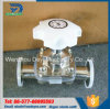 Stainless Steel Sanitary Straight Diaphragm Valves with Silicone Membrane