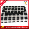 Custom China Plaid Fleece Picnic Blanket