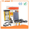 Suoer 5W Home Solar PV Panel Energy Power Lighting System (658)