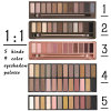 Eyeshadow Third Generation Makeup Newest 12 Color Matte Eye Shadow Palette Brush Matte