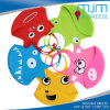 New Design Colorful Silicone Cartoon Baby Bibs
