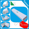 PVC Rainwater Gutter and Fittings Parts Rain Gutter for Africa