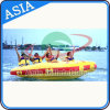 Inflatable Towable Water Donut Boat, Inflatable Equipment Lake Use Donut Boat