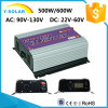 500W/600W LCD 46Hz-65Hz Wind Power Solar Grid Tie Inverter Ys-600g-W-D-LCD