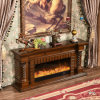 Modern TV Stand Heater Electric Fireplace Hotel Furniture (336S)