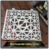 Color Customized Laser Cut Aluminum Cladding Panels for Exterior Wall