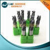 Tungsten Carbide End Mills with Altin, Tiain, Tisin, Naco Coating