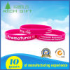 Custom High Quality Fine Environmental Printed Silicone Bracelet for Individual