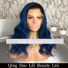 Hot Sale Lace Front Wig Styles Navy Blue Human Hair Wig for Black Women