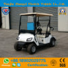 Zhongyi 2 Seats off Road Battery Powered Classic Shuttle Electric Sightseeing Golf Carts with High Quality