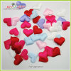 Multicolor Heat Shape Marriage Bed Soft 3D Fabric Confetti