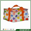 Fashion Colorful Canvas Shopping Handbag with Dots