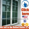 Cheap Price Heat-Insulated Aluminum Sliding Window with Colored Glass