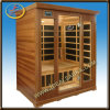 3 Person Carbon Fiber Heater Sauna Cabin/Health Services Equipment (IDS-3C1)