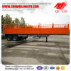 Customer Design Steel High Board Fence Semi Trailer
