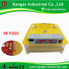 CE Approved Fully Automatic Digital 48 Eggs Incubator