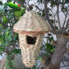 100% Handmade Birdhouse with Natural Color for Garden