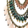 Multi Layers Acrylic Beads Necklace