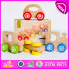 Hot New Product for 2015 Kids Toy Wooden Car Toy, High Quality Children Wooden Toy Car Set, Hot Sale Make Wooden Toy Car W04A085