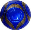 Blue Color Size 5 Machine Stitched Football for Promotion