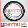 4 Core Fiber Optical Sc APC Upc Waterproof Connector Pigtail Cable