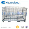 Stacking Galvanized Foldable Secure Storage Metal Cage
