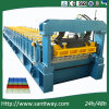Ce Certified Glazed Cold Tile Roll Forming Machine for Roof