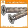 Stainless Steel 304/316 Phillips Csk Flat Head Machine Screw