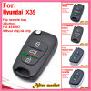 Flip Remote Key for Hyundai Elantra with 3 Buttons Fsk433MHz ID46 Chip