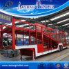 15m 2 Axle 6 Vehicle Car Transport Semi Trailer